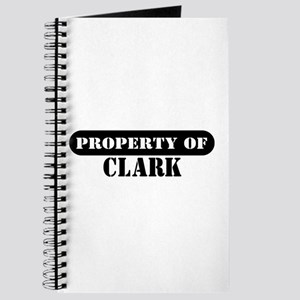 Property of Clark Journal